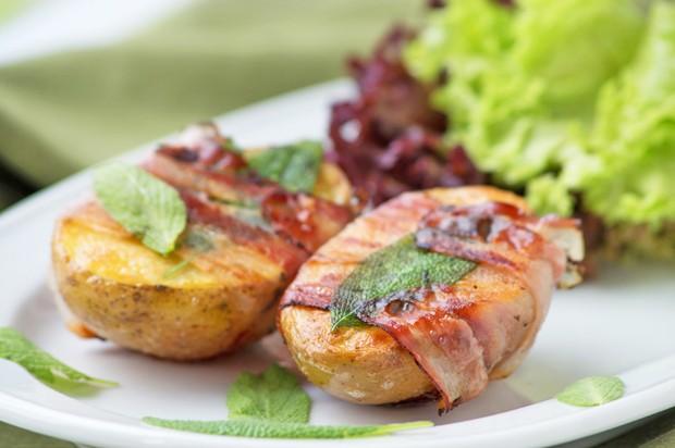 Speckkartoffel mit Salbei