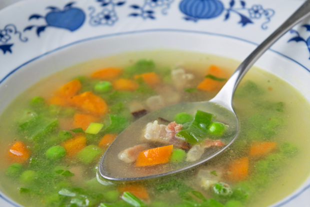 Tiroler Specksuppe