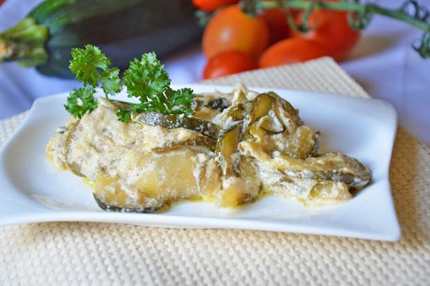 Curry-Zucchini-Sauce
