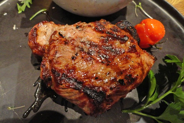 Steaks in Whisky Mariande