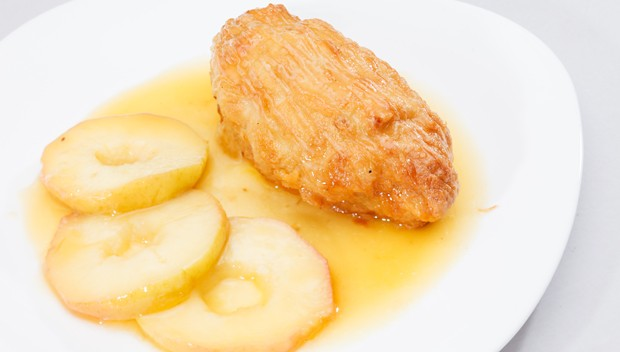 Huhn in Apfelsauce