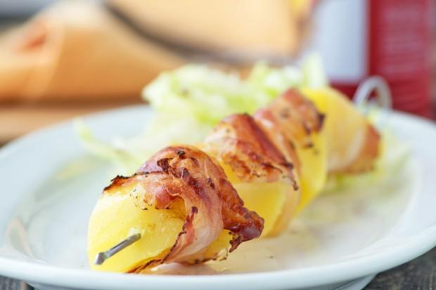 Speck-Kartoffel-Spieße