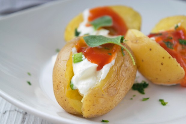 Ofenkartoffel mit Chilischmand