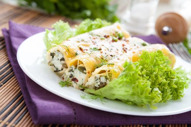 Cannelloni mit Ziegenfrischkäse