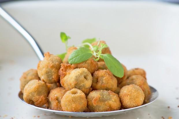 Frittierte Oliven