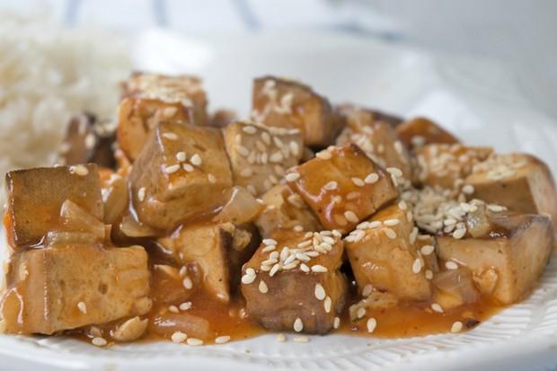 Ingwer-Sesam-Tofu