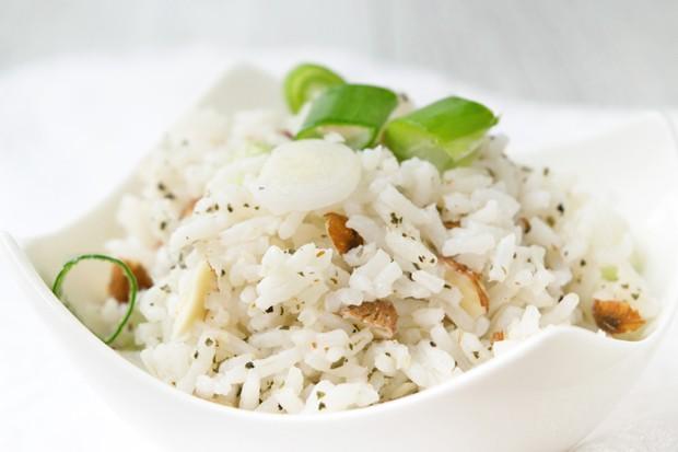 Reis nach indischer Art