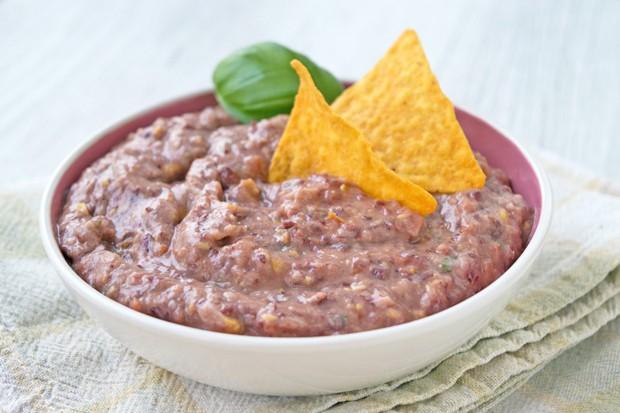 Vegane Bohnen-Salsa