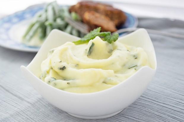 Brennessel-Kartoffel-Püree