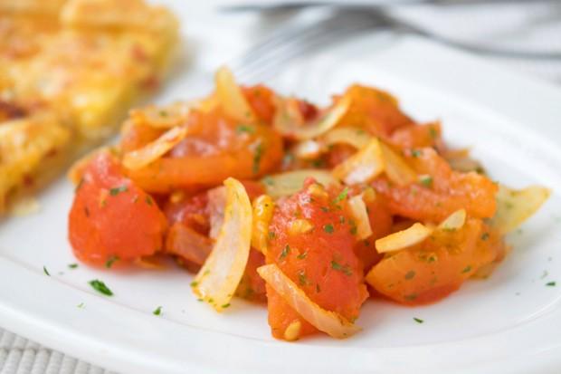 Gedünstete Tomaten