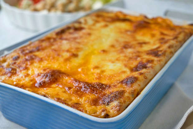 Crème fraîche-Gemüse-Lasagne