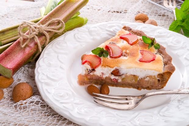 Rhabarberkuchen mit Stevia
