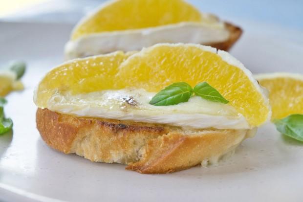 Camembert-Sandwich