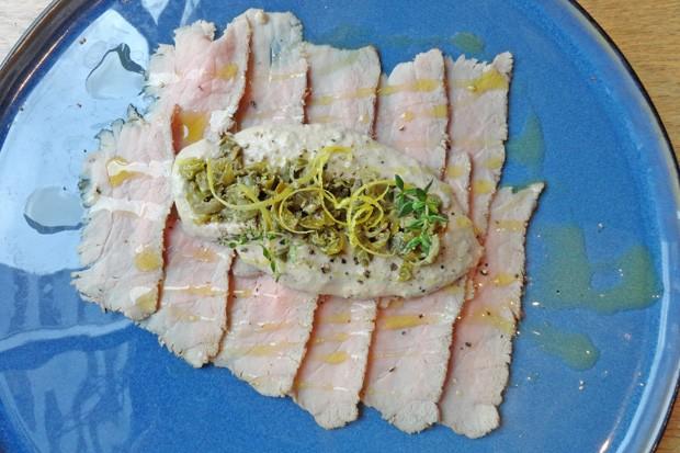 Thunfisch-Kapern-Sauce