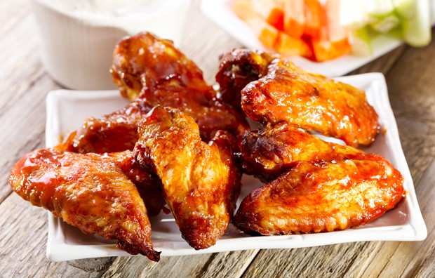 Barbecued Chicken-Wings
