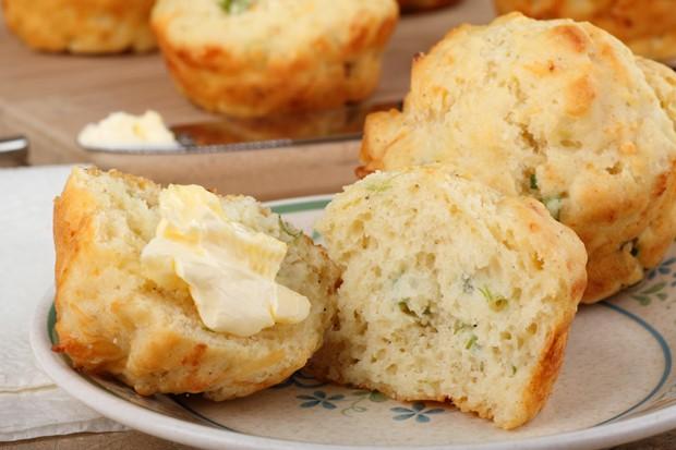 Gemüse-Hirse-Muffins