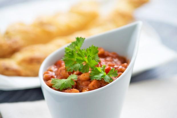 Bohnen-Tomaten-Dip