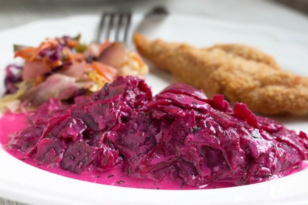 Rote Beete-Salat mit Dill