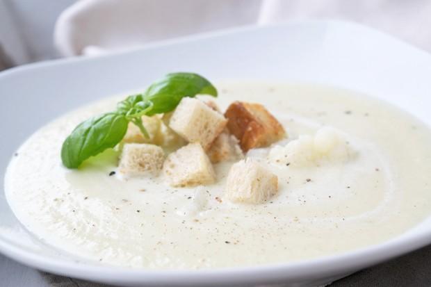 Karfiol-Topfen-Cremesuppe