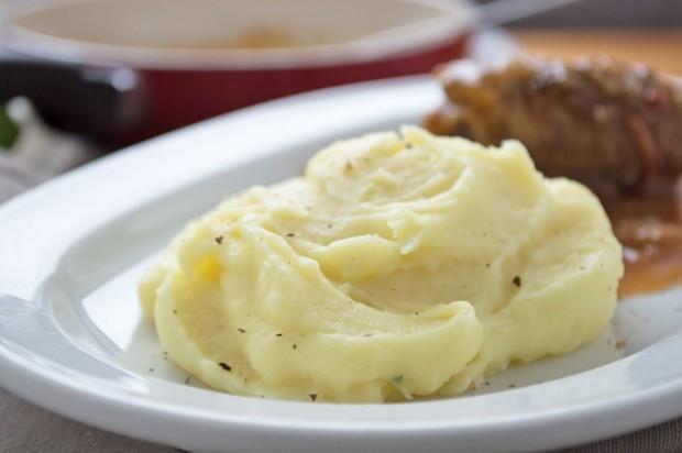 Kartoffelpüree mit Kren