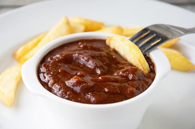 Ketchup-Orangen-Sauce
