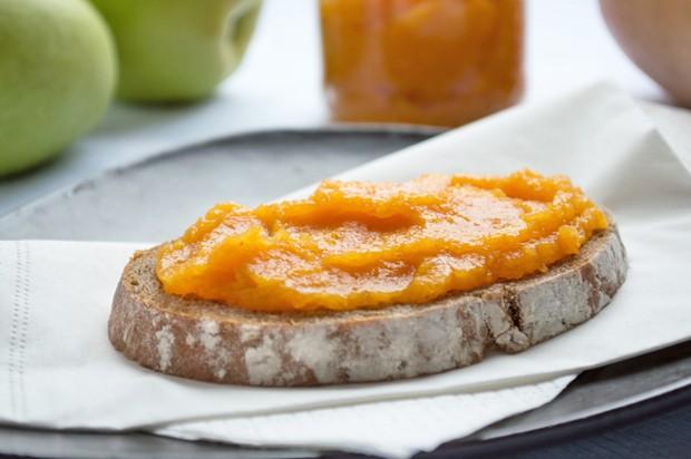 Kürbis-Apfel-Marmelade