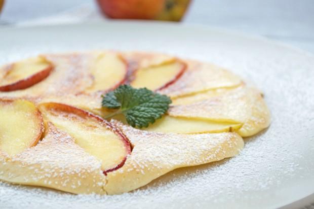 Apfel-Omelett