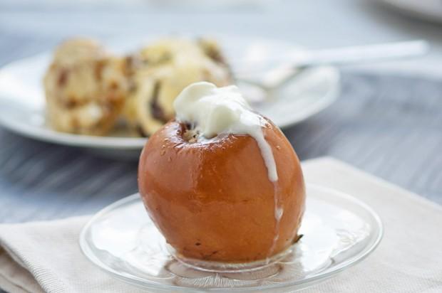 Bratapfel vom Grill