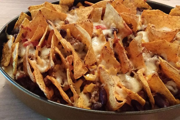 Tortilla Chips Auflauf - Mexikanischer Auflauf
