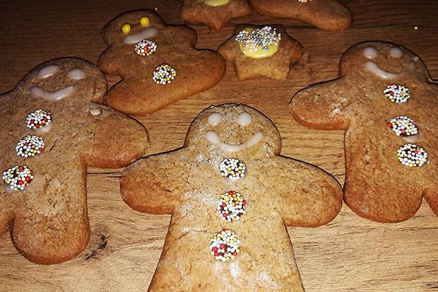 Weihnachtlicher Lebkuchen