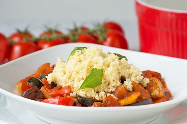 Orient-Gemüse mit Couscous