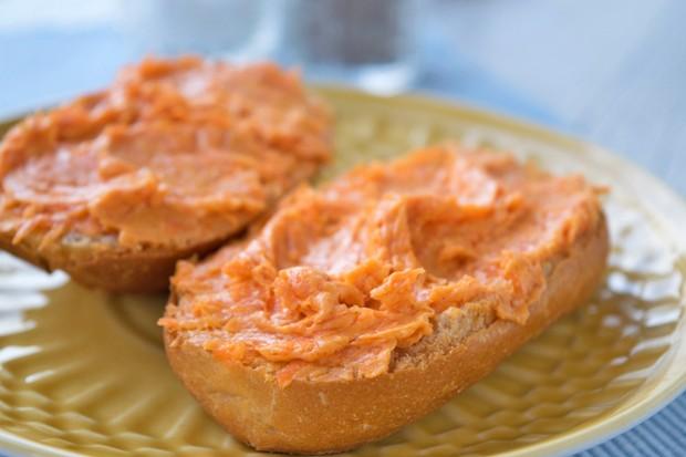 Karotten-Tomaten-Aufstrich