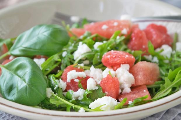 Melonen-Feta-Salat