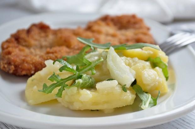 Kartoffel-Rucola-Salat