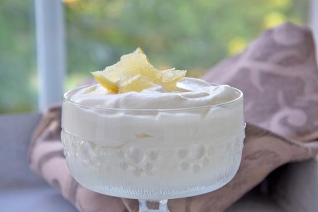 Zitronen Mousse
