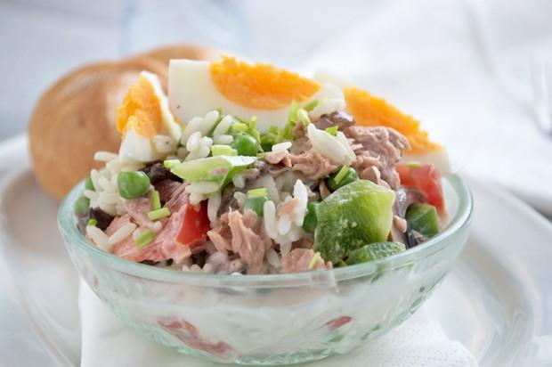 Thunfisch-Reis Salat