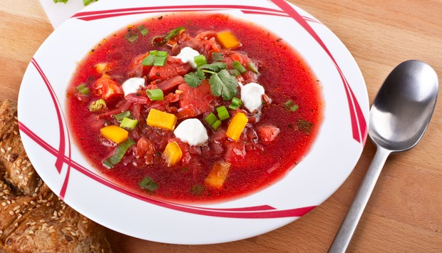 Rote Rübe-Apfelsuppe