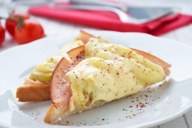 Birnen-Toast