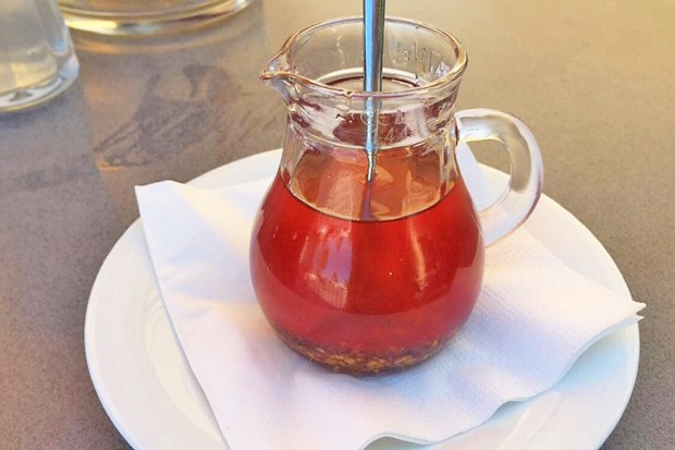 Knoblauch-Chili Öl