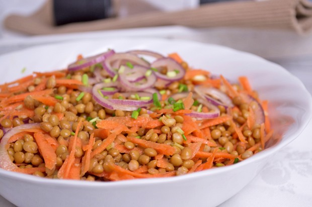 Linsen-Karotten-Salat