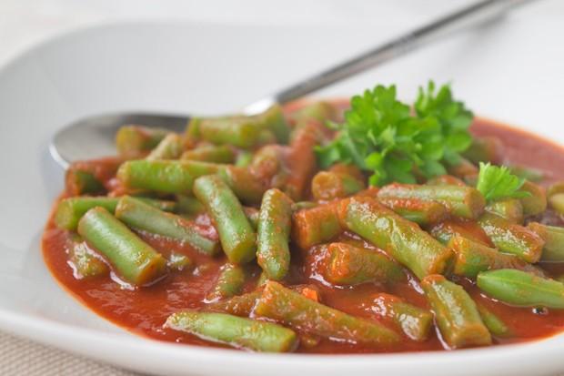 Fisolen-Gemüse