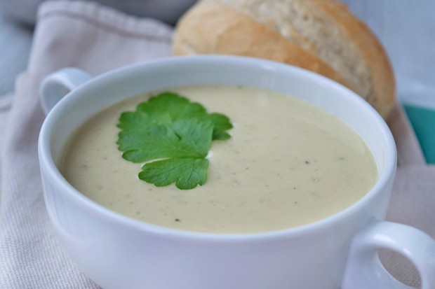 Lauch-Maroni-Suppe
