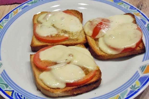 Tomaten-Toast