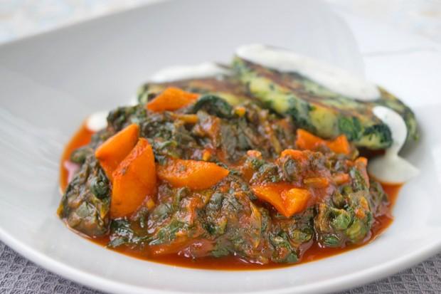 Spinat-Gemüse
