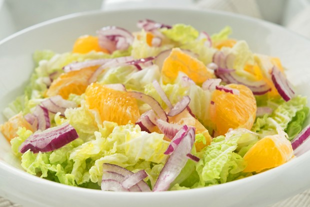 Chinakohl-Mandarinen-Salat