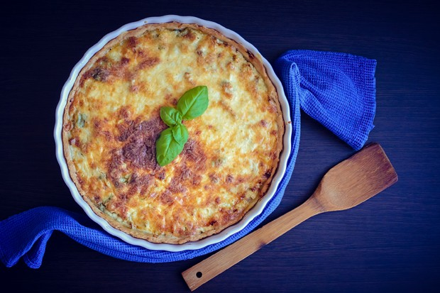 Lauch-Käse-Quiche