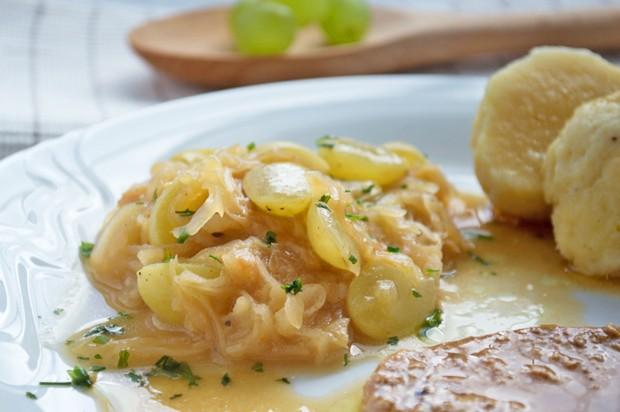 Trauben-Sauerkraut