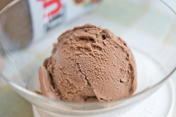 Nutella-Eis