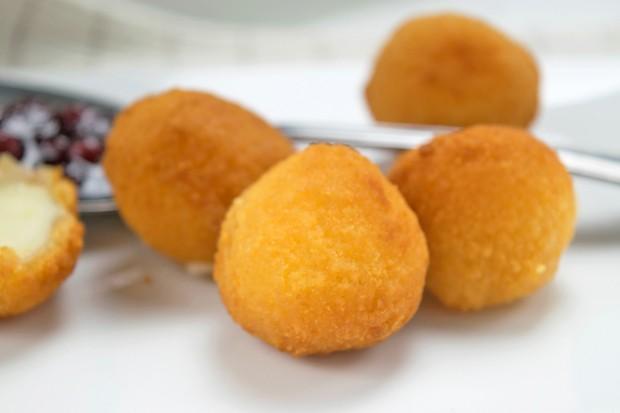 Mozzarella gebacken