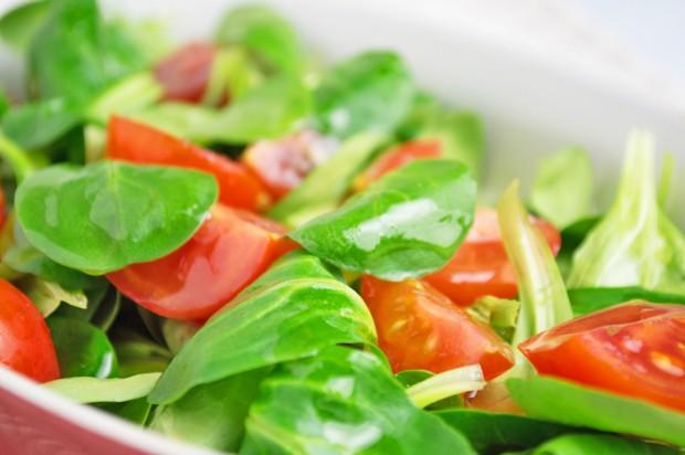 Tomaten-Vogerlsalat